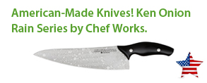American-made knives! ken onion rain series knives