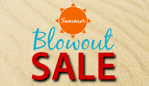 summer blow out sale!